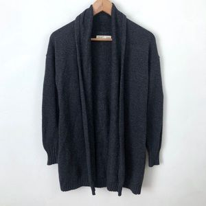 Old Navy Charcoal Gray Chunky Cardigan Sweater